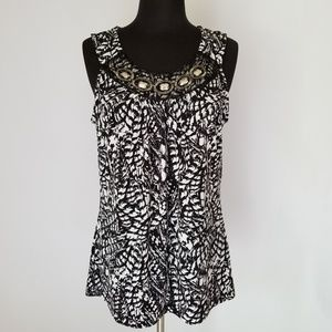 Christopher & Banks sleeveless blouse, medium